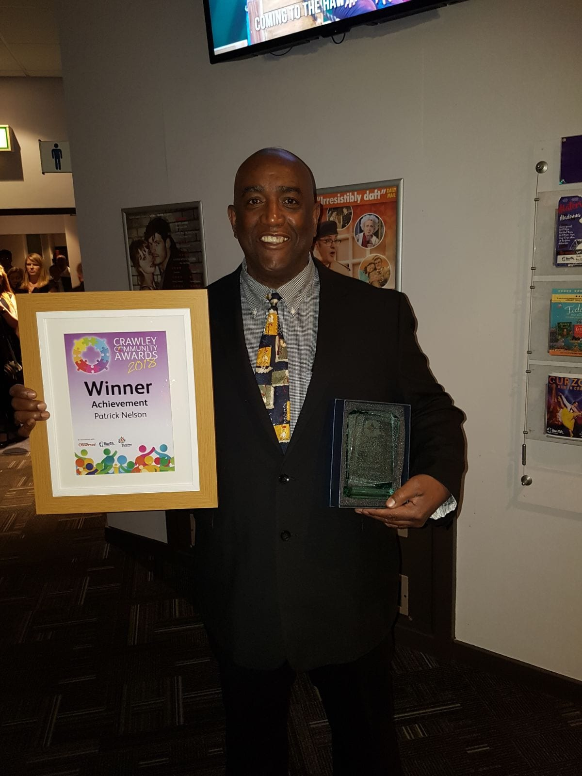 Just Ask Patrick wins Crawley Community Achievement Award